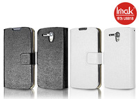 2 color imak case for HUAWEI U8818 Ascend G300 slim leather case (serpentine), high-quality leather, free shipping