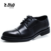 Autumn business formal male leather male genuine leather casual shoes men fashion pointed toe shoes