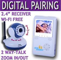 2.4g intercom wireless digital baby sitting device baby monitor baby monitor wireless camera
