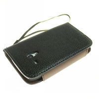 HK post free shipping Wallet Leather Case Cover for Samsung Galaxy S3 mini i 8190 Cell Phone Accessories