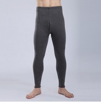 Warm tight underpants for winter 2014 mens thick soft velvet inner wear cotton long thermal underwear QK-3608 Free shipping