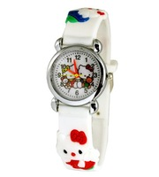 The new white men and women watch cartoon children elementary school students quartz watch wholesale price