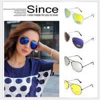Fashion Sunglasses Mercury Reflective Sunglasses Retro Sunglasses Cool Hot UV400 Free Shipping