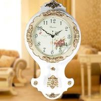 Fashion modern wall clock brief Large mute quartz clock and watch fashion antique swing clock