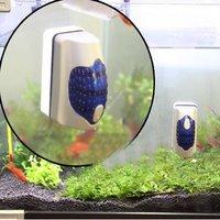 Aquarium Fish Tank Algae Glass Scraper Cleaner Floating Curve Magnetic cleaning Brush