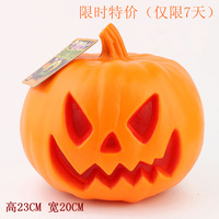 Halloween pumpkin lantern toy Large props pumpkin bucket masquerade party supplies bar decoration