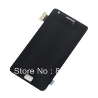 Replacement i9105 i9105p lcd display with touch digizter for samsung free shipping  blue