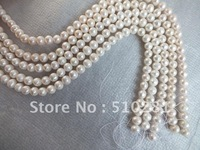 Glass Beads Free Ship!!10strand Aaa+++ Best Qaulity 5-6mm Full 16'' Each Strand (more Color Can Pick Up)round Freshwater Pearl