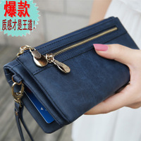 2013 clutch female multifunctional cowhide women's day clutch coin purse women's mobile phone bag multi card holder
