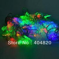 10M 60LED Christmas tree colorful LED string lights for Christmas tree/ holiday wedding /party 220V EU plug