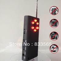 Free shipping Full Range Wireless Camera GPS Spy Bug RF Signal Detector GSM Device Finder T0182