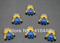 "50pcs  Despicable Me 2  PHIL Resins Scrapbooking Embellishment  1""  Free shipping"