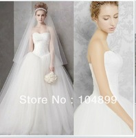 2013 Chaming/ Fashion  Stylish Wedding Dress White /Ivory /Customize All Size