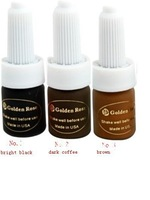 free shipping New Beauty Permanent makeup pigment 3pcs high quality hot sale tattoo ink kit