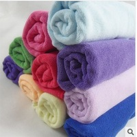 Multifunctional microfiber cloth wholesale nursery children small towel 30 * 30 Cleaning towel Free shipping many colors