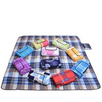 200x200cm High quality suede picnic mat, various color for choose, free shipping