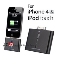 free shipping External Power Backup Battery Charger for iPhone 4 4S 4G 3GS 3G iTouch