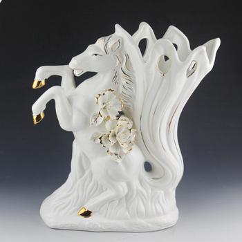 Jingdezhen ceramic crafts decoration home accessories fashion gift horse