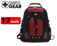 Swissgear laptop backpack 17 inch computer bag for big laptop multifunctional schoolbag