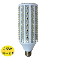 Free Shipping E27 B22 25W led corn light 5mm dip 360 degree led lighting 420chips corn light led bulb led spotlight AC85-265V