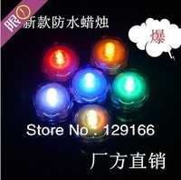 The new waterproof LED candle lights aquarium lights coffee bar candle party reception hall (waterproof candle) party