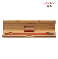 Premium newrea lobular red sandalwood chopsticks square toe stainless steel a90
