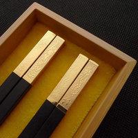 Dragon piti chopsticks marriage chopsticks set gift box tableware quality ebony chopsticks lettering