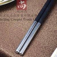 High temperature resistant alloy choptsicks deformation disinfection cabinet chopsticks household choptsicks chopsticks 10