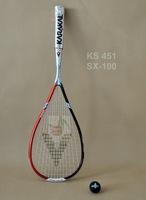 Karakal persian cat 100g magnesium nano carbon quality squash rackets sx-100 overwraps
