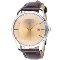 Watch male vintage fashion strap mens watch calendar quartz watch men's time mens watch