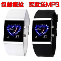 Personality lovers watches waterproof electronic watch led watch jelly table