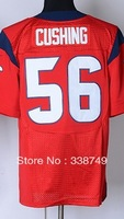 Free Ship Wholesale Men's American Football Jerseys Cheap Houston #56 Brian Cushing Red Blue White Elite Jerseys,Embroidery Logo