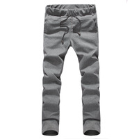 2013 summer mens slim casual pants sports pants elastic pants male trousers belt