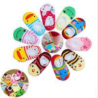 10 colors selectable, summer baby socks, anti-slip boy girl floor socks, thin comfortable elastic, length 12cm for 0-2 years old