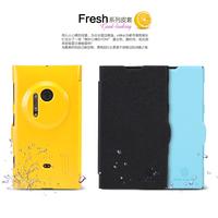New NILLKIN Fresh Series Flip Leather Case   For  Nokia Lumia 1020 + Free Shipping
