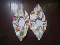 Fabric shoes cover customize cloth shoes cover flannelet shoes cover