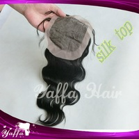 Free shipping 4*4  Queen Brazilian virgin hair Body Wave 4X4 with(out) Silk Base Lace Top Closure Swiss Lace Bleach Knots