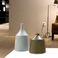 Bucherer home decoration vase ceramic vase decoration brief fashion furnishings a676 chromophous