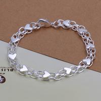 china alibaba bracelet love 925 silver bracelet men LKNSPCH293