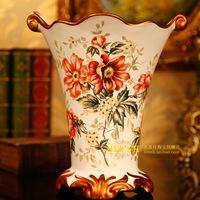 Red rose ceramic vase flower wedding gifts hw0830017 flowers