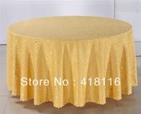 free shipping table covers for weddings round  jacquard table cloth  for events