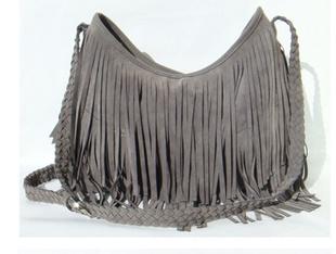New European And American Leisure Star Tassel Shoulder Bag Faux Leather Brand Messenger Bag BG007