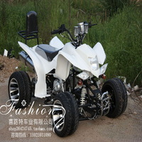 125cc engine atv 4wd road car luxury double stainless steel exhaust pipe