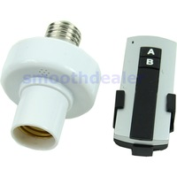 2013 New E27 Screw Wireless Remote Control Light Lamp Bulb Holder Cap Socket Switch