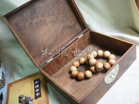 Gold phoebe jewelry box peacock jewelry box wood big measurement board jewelry box e937