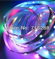 Free Shipping 5M 150 RGB SMD 5050 150 WS2811 IC WS2812B Individually Addressable Color Digital LED Strip Light DC5V