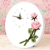 Desk clock for wedding gifts