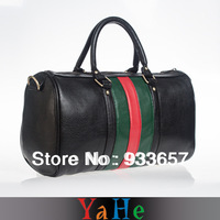 Women Handbag Brand YAHE Black Leather Messenger Women's  Bags Travel Organizer Bag for School Sales and Free Shipping WB3003