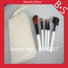 High Quality 5pcs Makeup Brush Set 5pcs Travel Makeup Cosmetic Brush Set