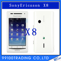 Fast Free Shipping Original Sony Ericsson Xperia X8 E15i Android OS 2.1 Unlocked Cell Phone with 3G Wifi GPS   Refurbished